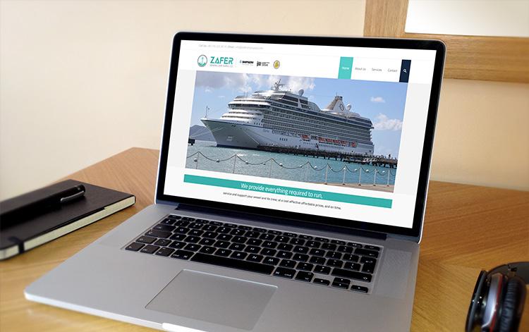 zafer ship supply websitesi